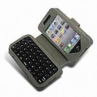 Wholesale Apple's iPhone 4 Keyboard With Leather Case from china suppliers