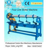 Wholesale Adjustment Carton Box Making Machine 1.5kw with Four Links Slotter , 3000mm Width from china suppliers