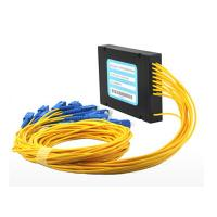 Buy cheap Networks Gpon Onu PLC splitter ABS Module For FTTH Project SC / APC from wholesalers