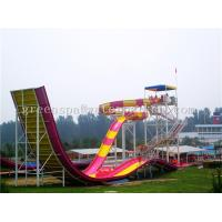 Quality Outdoor Adults Swimming Pool Water Park Slides For Water Playground Equipment for sale