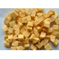 Wholesale Taste and flavour Natural Freeze dried yellow Peach FD yellow peach Dice Slice half from china suppliers