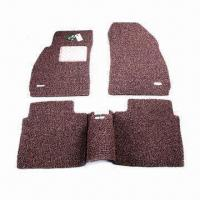 Wholesale 100% PVC Coil Car Mats, High Flexible, with Textured Spinneret for Dust Cleaning from china suppliers