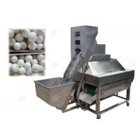 Electric Onion Peeling And Cutting Machine Rapid Processing Peeling Rate 70-80 pcs / Minute