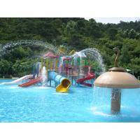 Wholesale OEM Fiberglass Kids' Water Playground System, Swimming pool Play Equipment from china suppliers
