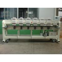 Wholesale Flat Bed / Finished Garments / Cap Embroidery Machine 6 Head With Automatic Thread Trimmer from china suppliers