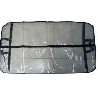 Wholesale Transparent PVC Dress Bag, Suit Garment Bags With Nylon Handle, Black Border from china suppliers