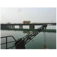 Wholesale Surface Painted Pre Engineered Bridges , Double Lane Modular Steel Bridge from china suppliers