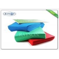 Wholesale Custom Examination Various Color 38g to 70g Dining Non Woven Fabric Tablecloths from china suppliers