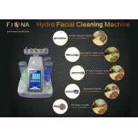 Wholesale Face Cleaning Portable Hydrafacial Machine Galvanic / Ultrasonic Multi Polar RF Function from china suppliers