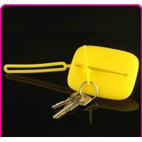 Wholesale silicone cosmetic bag / rubber wallet / Silicone Key chain bag from china suppliers