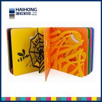 Wholesale Different die cut shapes board book , full color printing and glossy lamination of each page from china suppliers