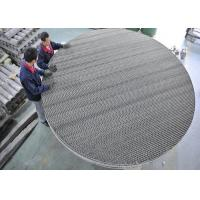 Wholesale Metal Wire Mesh Structured Packing Column For Desulfurize Tower Packing from china suppliers