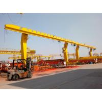 Wholesale China top design MDG model l type single girder gantry crane from china suppliers