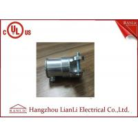 Wholesale Zinc Material Flexible Conduit Fittings EMT To FMC Type , Screws Connect from china suppliers
