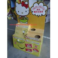 Quality Hello Kitty Cardboard Pallet Display with customized holes / prmotional floor display stand for sale