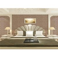 Wholesale Wet Embossed Non Pasted Bedding Room European Style Wallpaper 0.53*10m from china suppliers