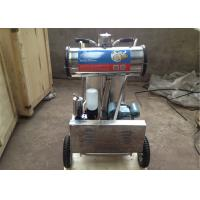 Wholesale 220v / 50hz Aluminum Bucket Dairy Milking Machinery With Mobile Wheel from china suppliers