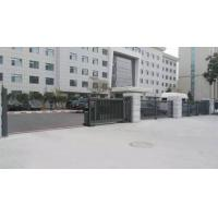 Trackless Motorised Steel Iron Telescopic Sliding Gate For Stadium With Powder Coating Protection
