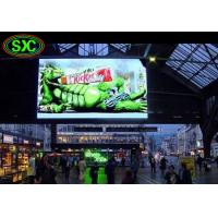 Wholesale Stadium / Station Indoor P4.81 Smd Curtain LED Display 250*250mm 52*52dots from china suppliers