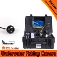 Quality Dome Shape Underwater Fishing Camera Kit with 100Meters Depth Cable & 7Inch LCD Monitor for sale