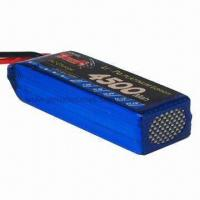 Wholesale Tiger 11.1V 30C 3S RC Li-Pol Battery with 4,500mAh Capacity from china suppliers