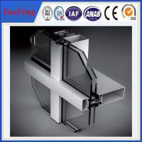 Wholesale NEW! 6000 series aluminum curtain wall extrusion profiles, china aluminium profiles from china suppliers