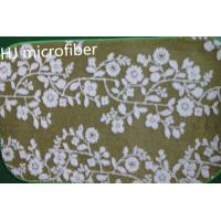 Wholesale Green printed flower Microfiber Mat 40*60 floor bathroom memory  foam mat carpet from china suppliers