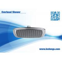 Buy cheap Hotel Bathroom Overhead Shower Head ABS Chrome With large rain from wholesalers