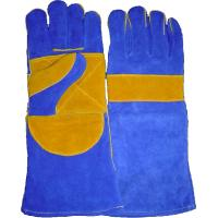 Wholesale L size Long welt seam safety waterproof welders Welding Glove for warm work WRCBB from china suppliers