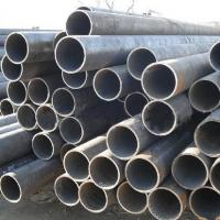 Wholesale Q195 - Q345 Thick Wall Steel Welded Pipe ASTM A53 BS1387 , Round Structure / Fluid Pipe from china suppliers