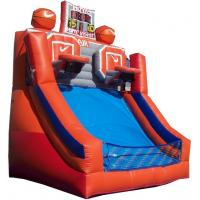 Wholesale Customized Red Carton Inflatable Basketball Game Durable , Attractive from china suppliers
