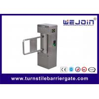 Wholesale Adjustable High Speed Pedestrian Turnstile for Business Buliding , Gate DC24V from china suppliers