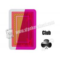Wholesale NTP Kizilay Standard Red Cheat Playing Cards Marked Cards from china suppliers