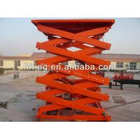 Wholesale Safe Hydraulic Scissor Lift Platform 2t 3t 4t with high load capacity for airport from china suppliers