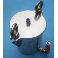 Wholesale Red Glue / Solder Past Dispensing Pressure Vessel 5L Stainless Steel Pressure Container from china suppliers