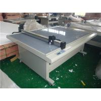 Wholesale Laser position digital preprint cut creasing plot flatbed digital cutting machine from china suppliers