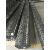 Wholesale Hot Stretched PP Biaxial Geogrid Geosynthetic Materials 30KN/M CE Certificated from china suppliers