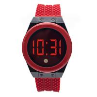 Wholesale Fashion unisex gun alloy case color filled soft silicone band Touch screen digital watches from china suppliers