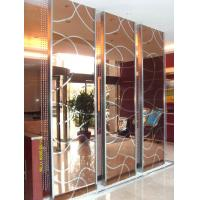 Wholesale China Manufacturer Stainless Steel Screen Partition For Hotel lobby Interior Design and Lobby Design from china suppliers