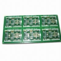 Quality Enig Surface Finished PCBs with 4 Layers, Minimum Via Diameter of 0.3mm for sale