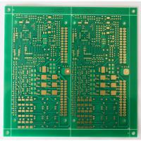 Wholesale 1.6 mm multilayer FR4 PCB with ENIG surface treatment and gold finger for industrial control application from china suppliers