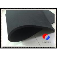 Quality Black Fire Resistant Felt Rayon Based 5MM Thickness Carbon Felt Length Customized for sale