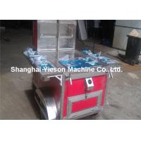 Wholesale Red Mobile Food Trailer Snack Cart , Mobile Hot Dog Cart  Sandwich Panel from china suppliers