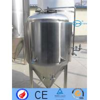 Wholesale 100 - 30000L Stainless Fermentation Tank  Inox Beer Fermenting Vessel Easy Clean  Maintain from china suppliers