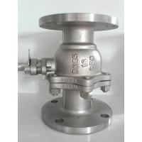 Wholesale 2PC Flanged Ball Valve SS316 ANSI B16.10 Flanged OD BS4504 undrilled from china suppliers