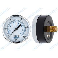 Wholesale 30HG-0-15000PSI Chrome steel bezel General Pressure Gauge with dry manometer from china suppliers