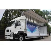 Wholesale Isuzu Chassis Small Cargo Truck 6*4 5 Tons Wings Opaning Truck for Transporting Dry Cargo from china suppliers