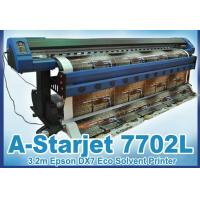 Wholesale 3.2m Eco Solvent Printer A-Starjet 7702L with 2pc Epson DX7 for PVC Vinyl from china suppliers