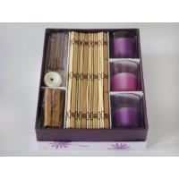 Wholesale Romantic purple candle incense set from china suppliers