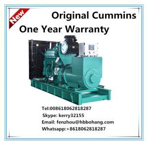Wholesale AC three phase diesel generator set CUMMINS KTA19-G4 510KVA from china suppliers